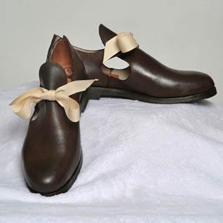 Wood, Leather & Stone, etc  ~ Historic Shoes